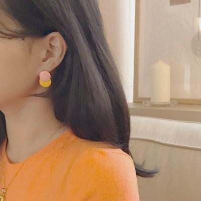 [패션 귀걸이] 피치 이어링