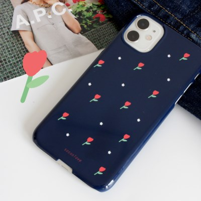 Night tulip case 폰케이스