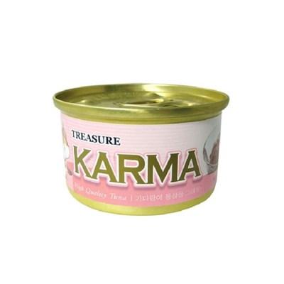 카르마 고양이캔 가다랑어+연어 80g 24개/고양이간식