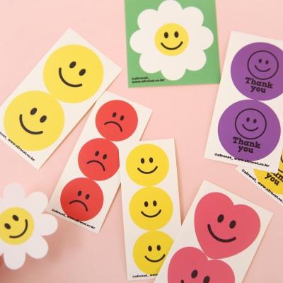 afrocat smile sticker
