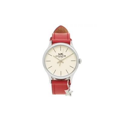 COACH 코치시계 루비 가죽 스트랩 여성 손목시계 W1549_(1355822)