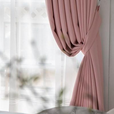 모던 암막커튼 핑크 Pink_(1305343)