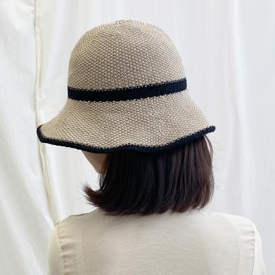 해리 밀짚벙거지 여름 여성 왕골모자