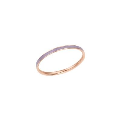 로이드 심플 라벤더 에폭시 14K Gold 반지 LRS2032LG