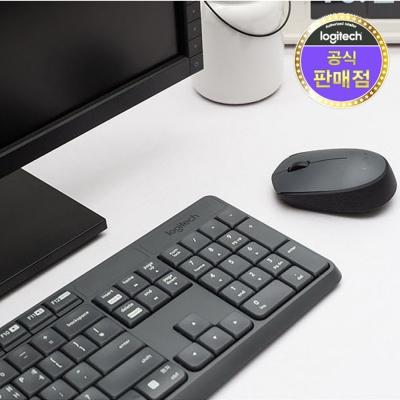 로지텍 코리아 MK235 무선 키보드 마우스 Set