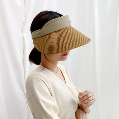 국산 린넨 썬바이저 여름 썬캡 모자