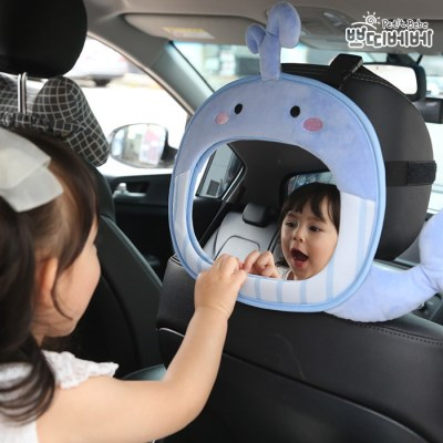 쁘띠베베 자동차 후방안전거울 아기고래_(1127602)