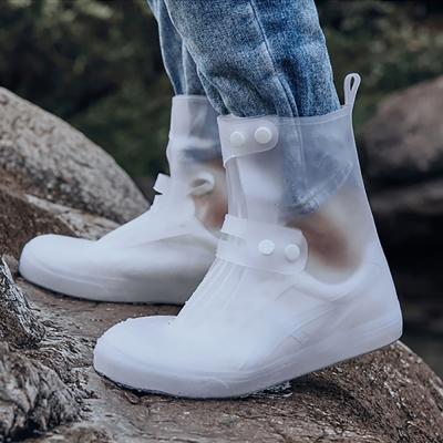 레인슈즈 부츠 비올때 신발에 방수 신발커버 장화