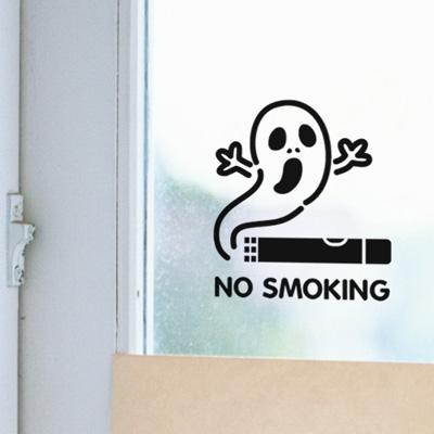 Life sticker-NO SMOKING