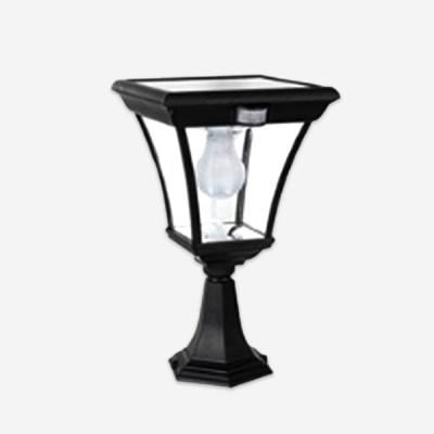 LED 태양광 문주등 CB-D271 모션센서내장 야외 정원 조_(1868635)