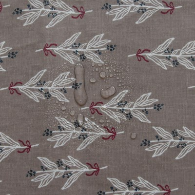 [Fabric] 메리의 빨간 리본 린넨 라미네이팅