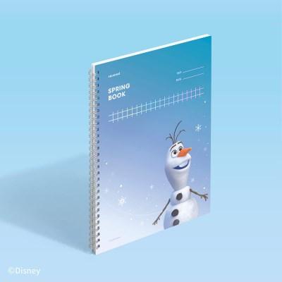 [디즈니] 스프링북 스퀘어드 - 올라프