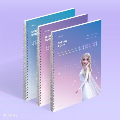 [디즈니] 스프링북 스퀘어드 SET - 겨울왕국 2