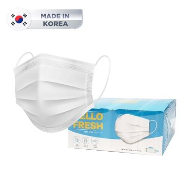 [국산] 이중포장/당일발송 3중 MB 필터 일회용 마스크 50매 (1박스)