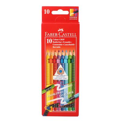 파버카스텔 그립 지워지는 색연필 10색