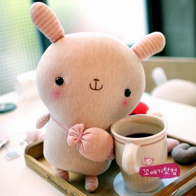 [DIY]아기 말랑이 만들기 패키지-핑크캔디 (솜포함)