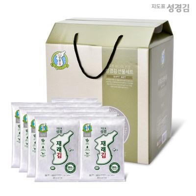 지도표 성경김 명절 행복세트 전장A호 3호