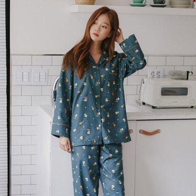 [SALE] 알콩단잠 여성잠옷 드래프트비어 순면 긴팔 파자마 홈웨어 세