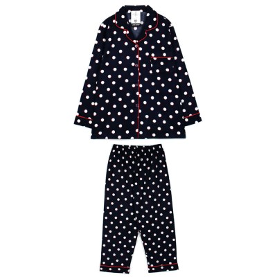 [SALE] 알콩단잠 여성잠옷 달도트 기모플란넬 긴팔 파자마 상하세트