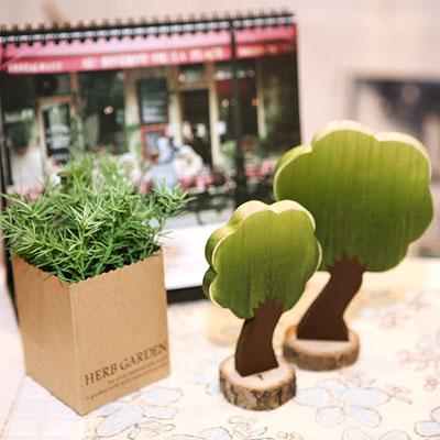 초록이 나무 세트 Ver.2