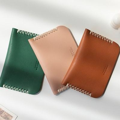 하비풀 DIY 가죽카드지갑 2개 만들기 (색상 선택)