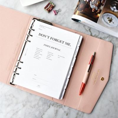 (2021 날짜형) 2021 Classy Gentle Diary