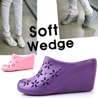 Cute Punching Slipper Wedge_KM10s152