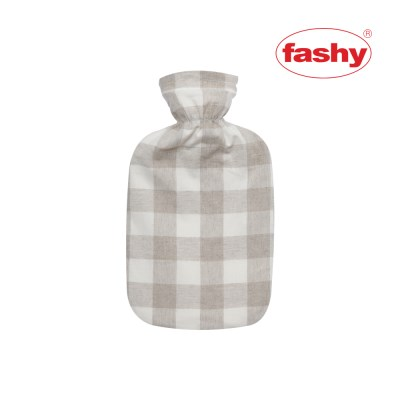[Fashy]독일생산 파쉬 보온 물주머니/핫팩_면체크커버_(2500766)