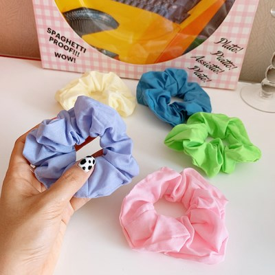 Soft Scrunchie 무지스크런치 곱창머리끈