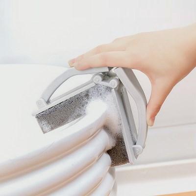 폴딩 스펀지 청소솔 / 접이식 싱크대 욕조브러쉬