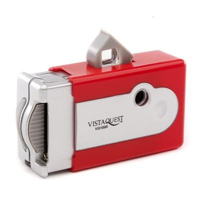 비스타퀘스트 디지털 토이카메라 VQ1005 레드 (SD메모리사용)