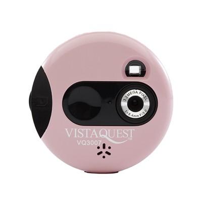 비스타퀘스트 디지털 토이카메라 VQ3007 핑크 (SD 메모리사용)