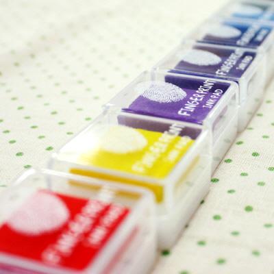 핑거프린트 잉크패드 (23color)