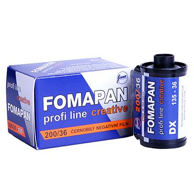 포마 흑백필름 200-36컷 (1롤) FOMA CREATIVE 200