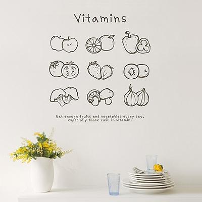 (그래픽스티커)비타민