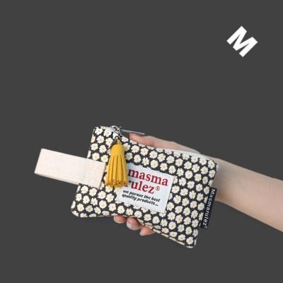 [10X10 단독상품] 마약 스트랩 파우치 데이지 미니 _ Black