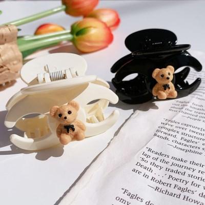 귀요미 곰돌이 테디베어 미니 집게핀 (2color)