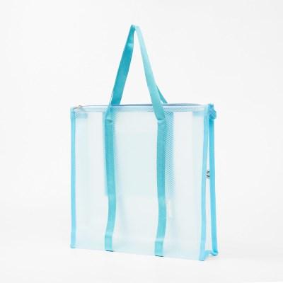 아쿠아 방수 비치백(블루) 해수욕장 바캉스 가방
