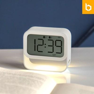 유즈비 플로팅 무드등 알람시계 알람 LED조명 디지털