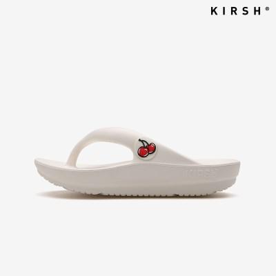 [키르시] KIRSH FLIP FLOPS 아이보리 체리 플립플랍 쪼리 슬리퍼 (KI