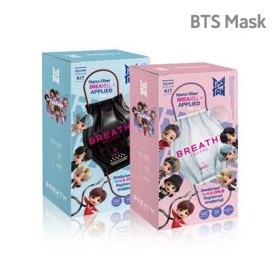 ★최저가★ BTS 브레스 실버 타이니탄 마스크 모음