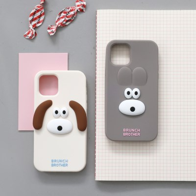 Brunch Brother 버니&퍼피 실리콘 케이스 for iphone11 series