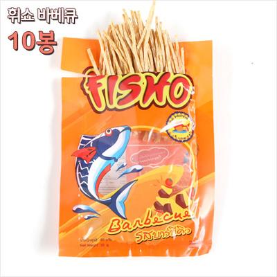 휘쇼/피쇼(fisho) 바베큐맛(30gX10봉)