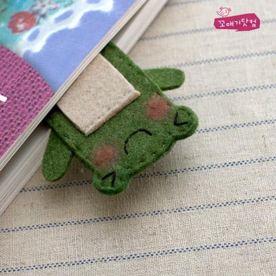 [DIY]돌돌돌 연두구리 만들기 패키지:이어폰 줄감개