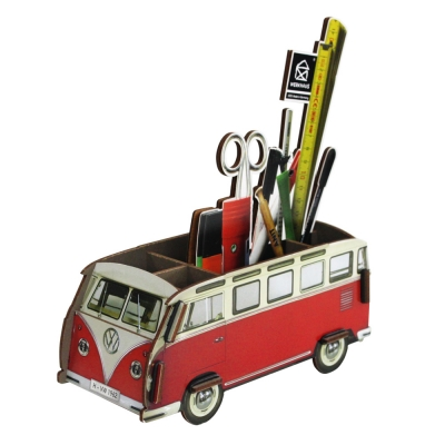 Pencil box - red bus