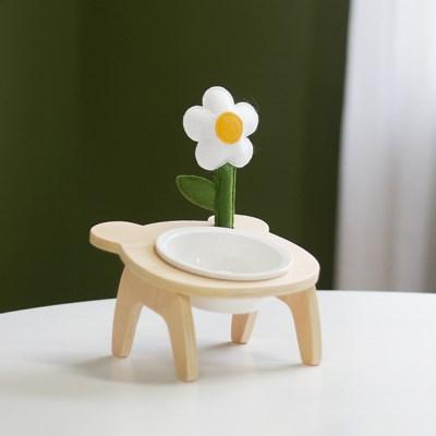 곰돌이 세라믹 밥그릇