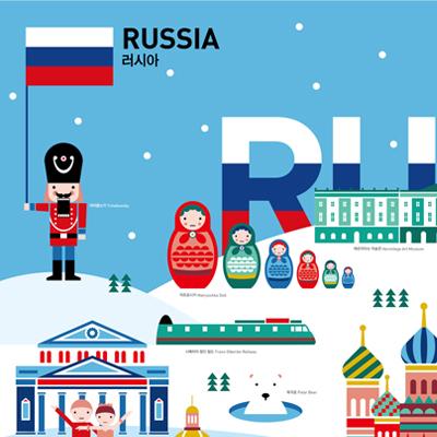 GO! GLOBAL 포스터 시리즈 '러시아'