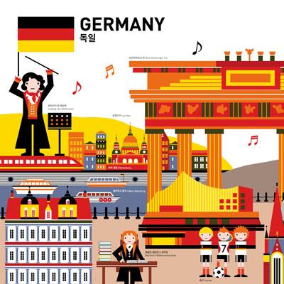 GO! GLOBAL 포스터 시리즈 '독일'