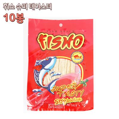 휘쇼/피쇼 슈퍼 테이스티맛(30gX10봉)