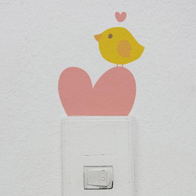 [itstics-ichigo] 스위치스티커(사랑아기새)